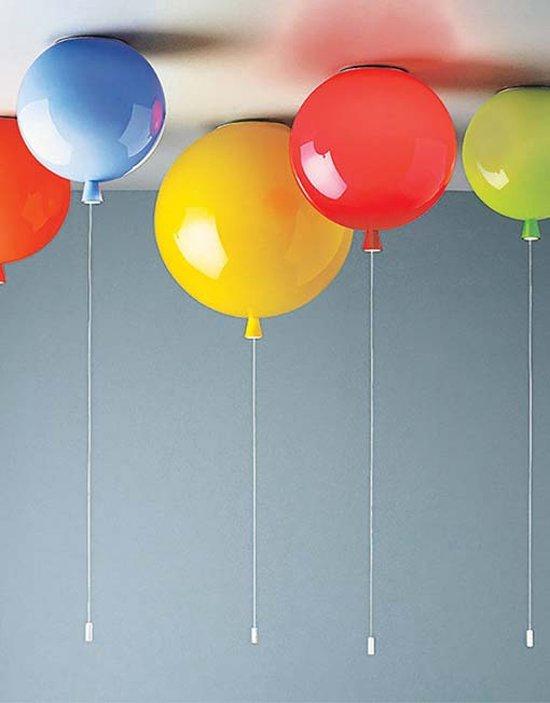Bol Com Ballon Lamp Plafond 30cm Oranje