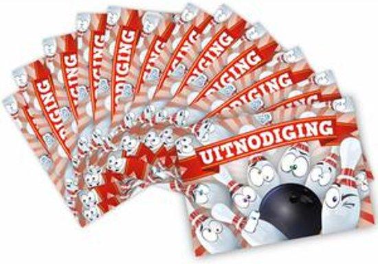 Bol Com Verjaardagskaarten Kinderkaarten Bowling Design