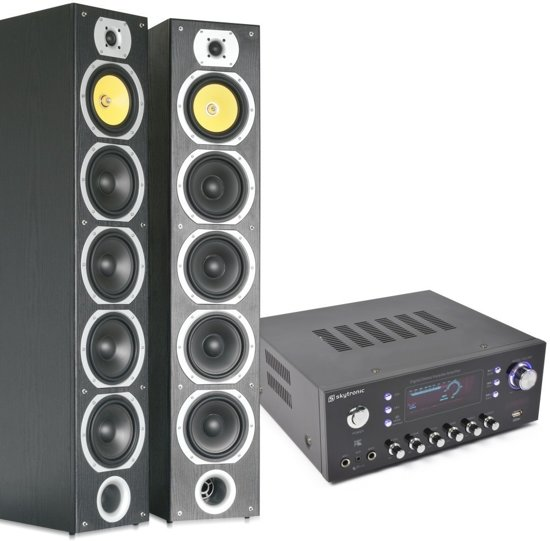 bol.com | Complete SkyTronic HiFi Stereo installatie voor muziek ...