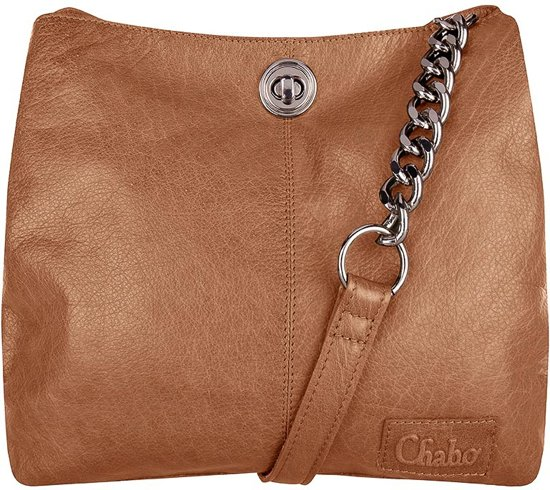 7178a2a59dd3a Chabo Bags Chain Bag Small - Camel
