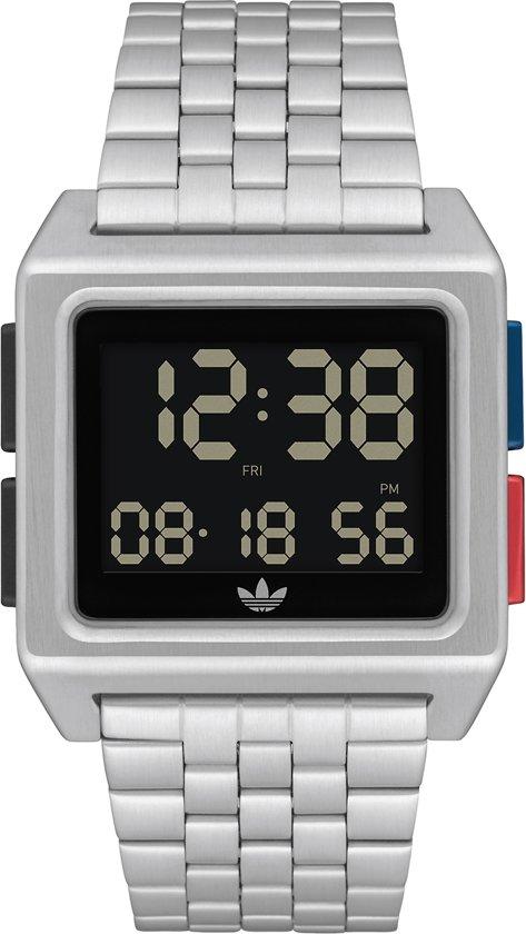 Adidas Horloge Z01-2924-00 Zilver
