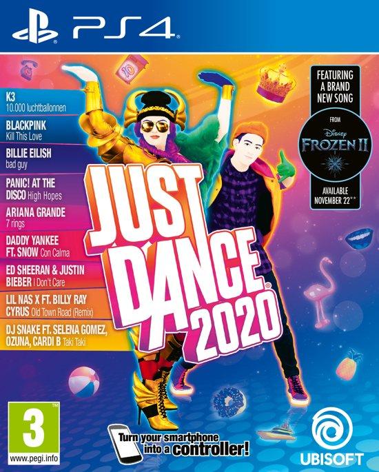 Cover van de game Just Dance 2020 - PS4