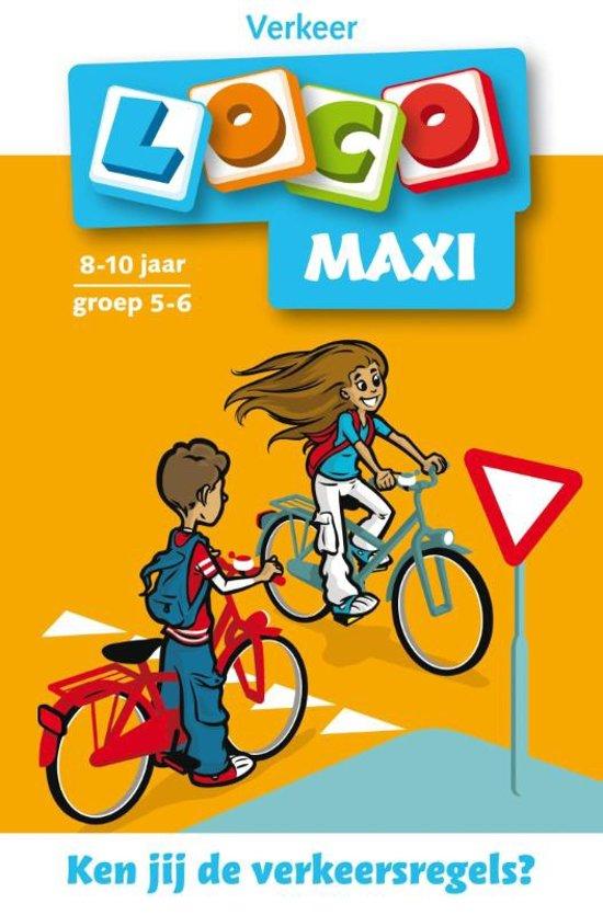 Boek cover Loco Maxi / Ken jij de verkeersregels? van Jacqueline de Kok-Hoeksema (Paperback)