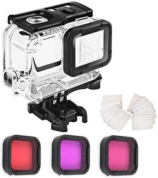 88b38aa680bda7 YONO Onderwater Duik Set voor GoPro Hero 5 6 7 Behuizing met Filters en  Anti-