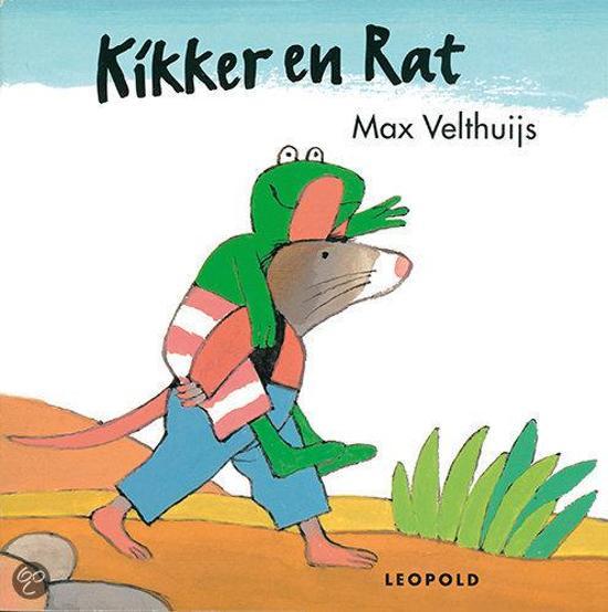 Boek cover Kikker - Kikker en rat van Max Velthuijs (Hardcover)