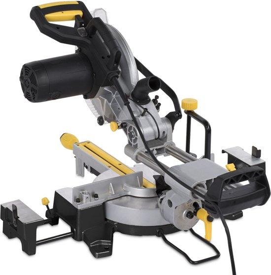 Powerplus POWX07568TX Multifunctionele afkortzaag (verstekzaag) - met trekfunctie - 2000 W - Ø254 mm