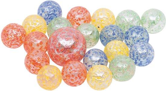 Toys pure Knikkers in netje spikkels 21-delig