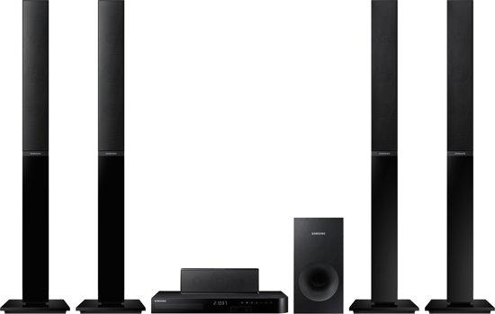 samsung ht j4550 5 1 home cinema set zwart. Black Bedroom Furniture Sets. Home Design Ideas