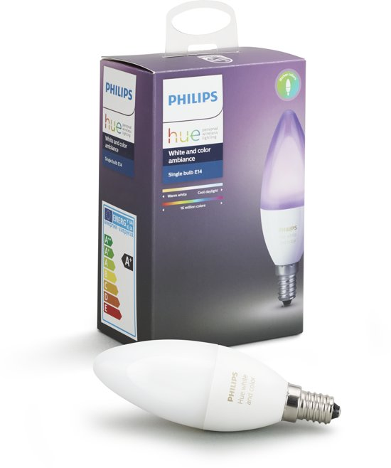 Philips Hue Kaarslamp - White and Color Ambiance - 1-pack