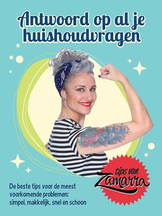 Boek cover Antwoord op al je huishoudvragen van Zamarra Kok (Hardcover)