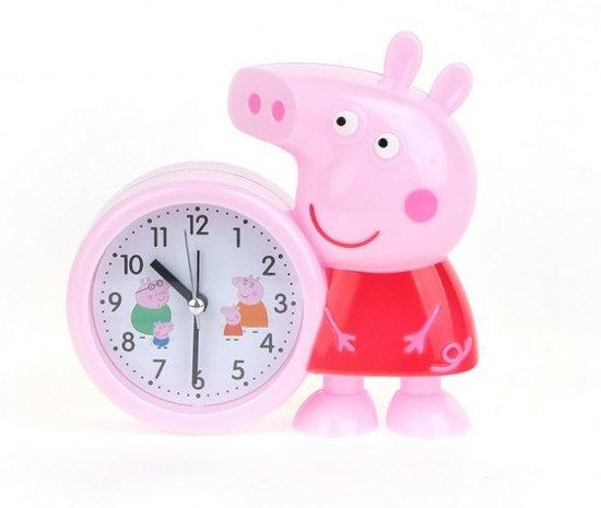 Peppa pig wekker rood