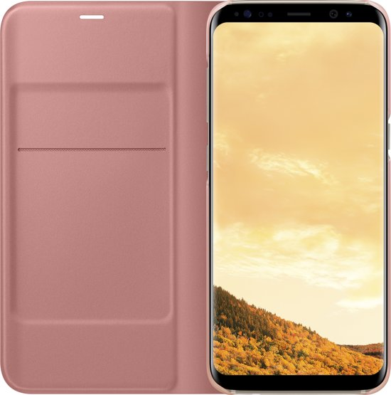 Samsung Galaxy S8 LED View Cover Pink