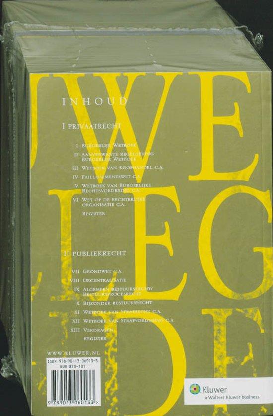 Boek cover Kluwer Collegebundel wetteksten / 2009-2010 van Onbekend (Paperback)