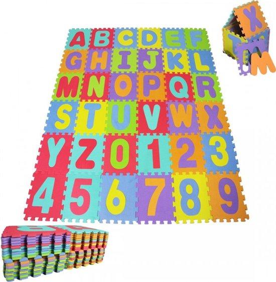 Speelkleed, speelmat, Puzzelmat, speeltapijt 86-delig XXL - EVA foam