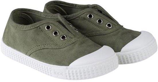 Igor Meisjes Sneakers Berri - Groen - Maat 25