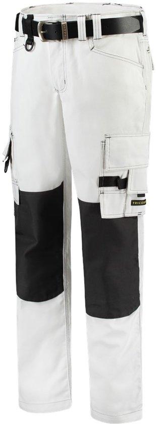 Tricorp Worker canvas met Cordura - Workwear - 502009 - Wit Donkergrijs - maat 52
