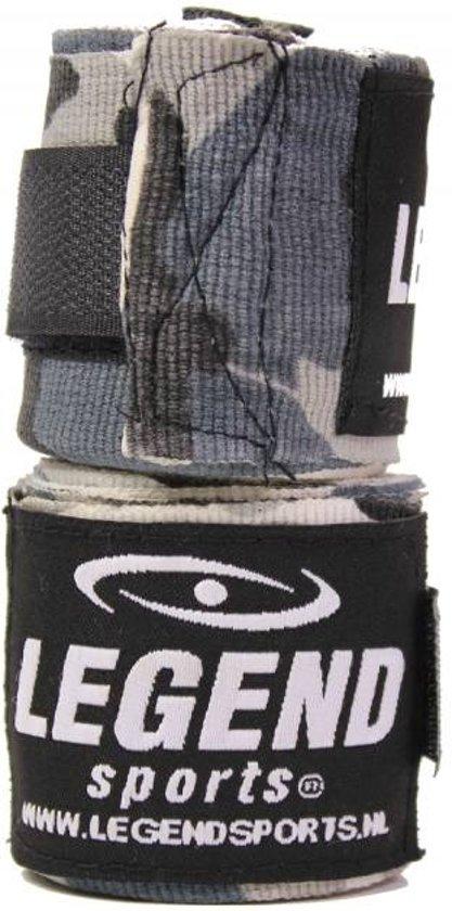Legend Premium Bandages 4,5M speciale kleuren  : Camo Grijs
