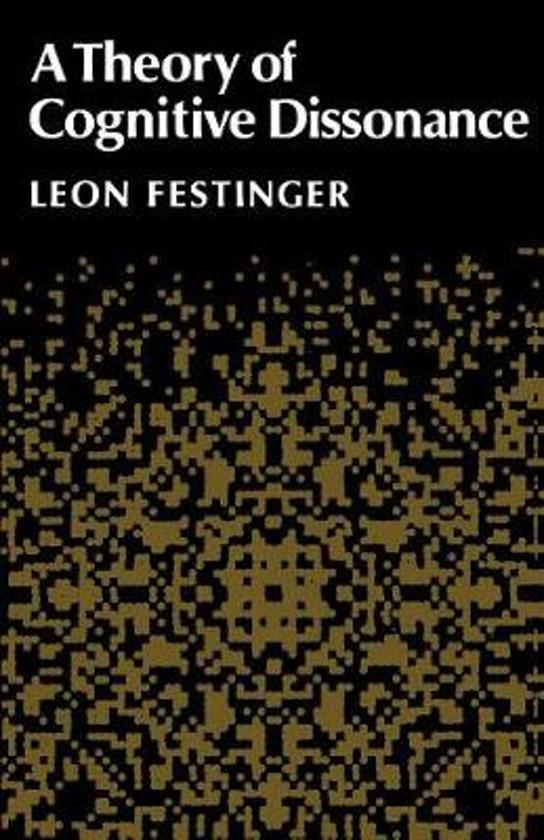 an analysis of the theory of cognitive dissonance by leon festinger