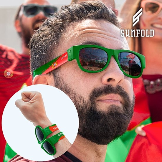 Sunfold - Sunfold World Cup Portugal Roll-Up Zonnebril - Unisex -