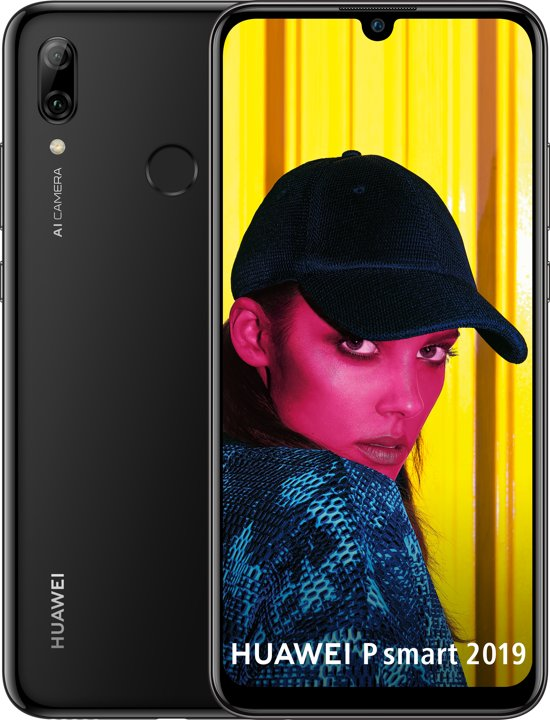 Huawei P Smart 2019 - 64GB - Zwart
