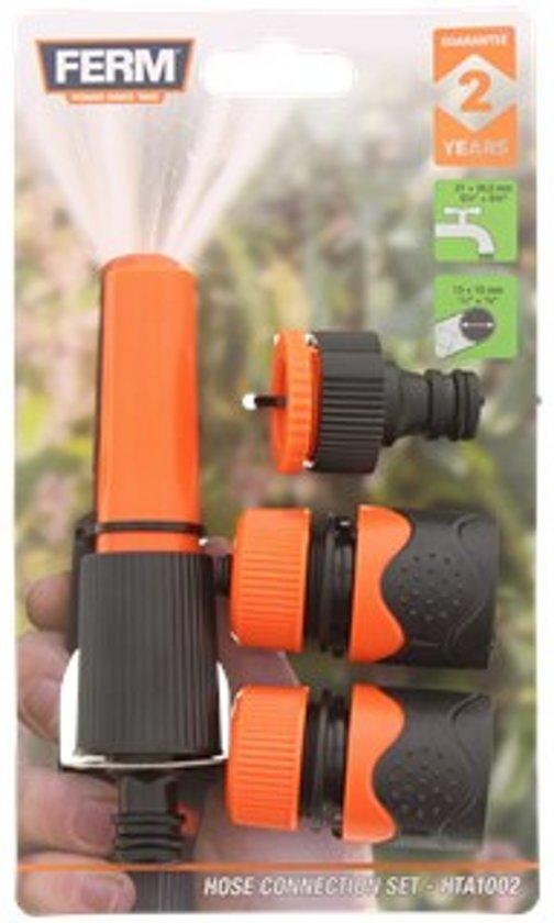 Uitzonderlijk bol.com | Tuinslang koppelingen FERM | Koppelstuk tuinslang XK12