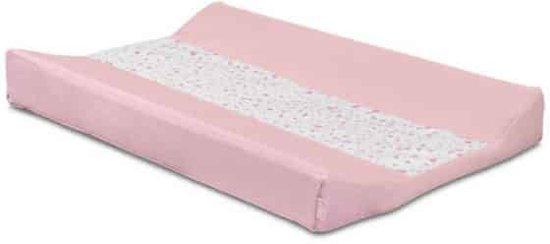 Waskussenhoes 50x70cm Tiny waffle soft pink