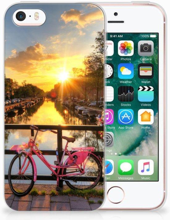 iPhone SE | 5S Uniek TPU Hoesje Amsterdamse Grachten