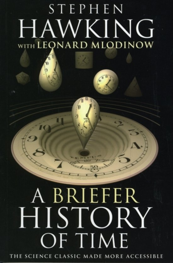 Boek cover A Briefer History of Time van Stephen Hawking (Paperback)