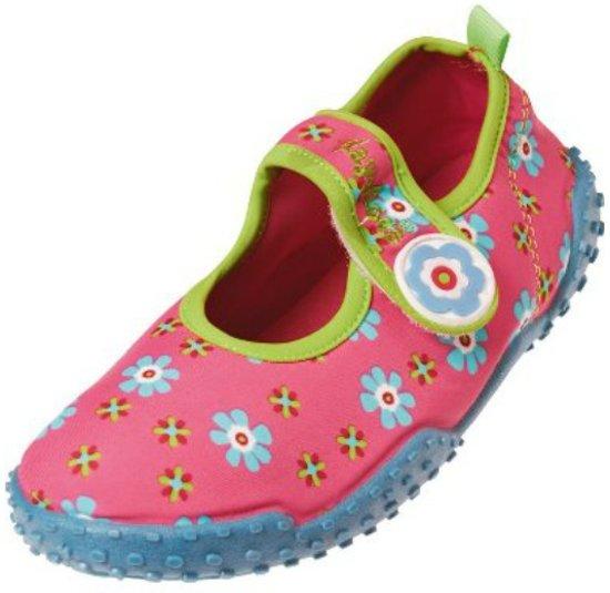 1d69b4c3994d6a Playshoes - UV strandschoentjes voor kinderen - Bloem