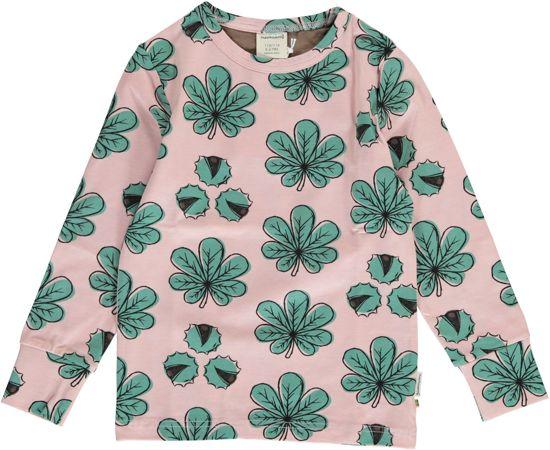 Maxomorra T-shirt  CHESTNUT LEAF  Lange Mouwen 134/140