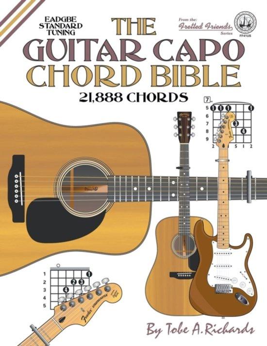 Bol The Guitar Capo Chord Bible Eadgbe Standard Tuning 21888