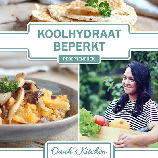 Boekomslag voor Oanh's Kitchen - Koolhydraatbeperkt Receptenboek