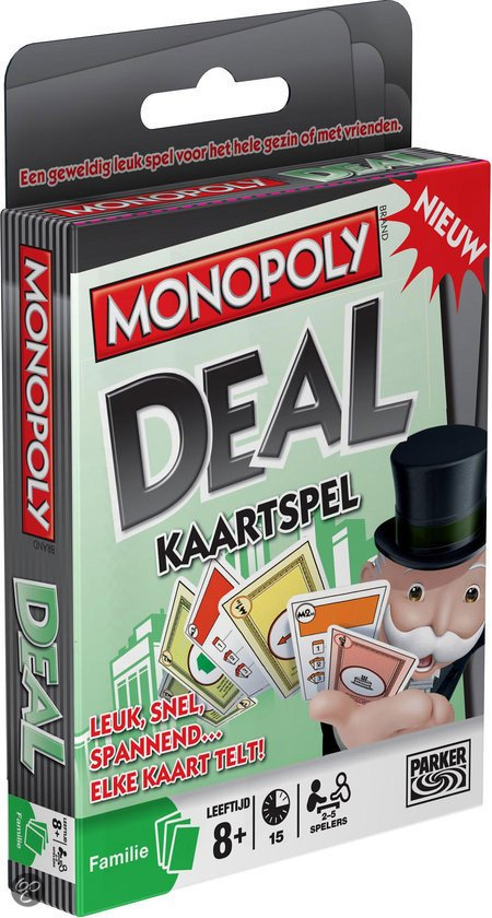 Afbeelding van het spel Monopoly Deal Kaartspel (Belgische versie)