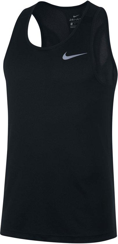 Nike Sporttop - Maat M  - Mannen - zwart