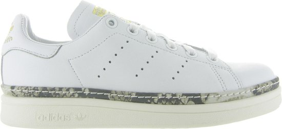 adidas Dames Sneakers Stan Smith New Bold - Wit - Maat 36