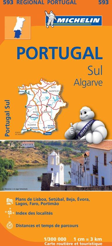 Michelin 593 Portugal Sul, Algarve