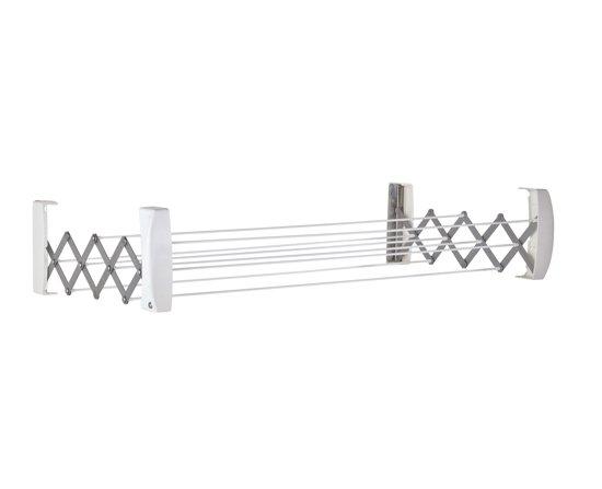 leifheit teleclip 60 wanddroogrek uitschuifbaar. Black Bedroom Furniture Sets. Home Design Ideas
