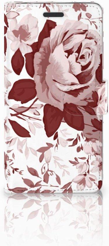 Samsung Galaxy Note 5 Flipcase Watercolor Flowers