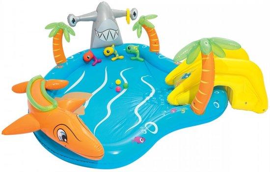 Bestway Kinderzwembad Zeedieren 280 Cm Blauw