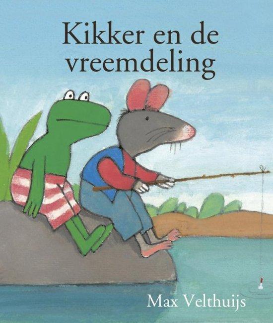 Boek cover Kikker - Kikker en de vreemdeling (mini) van Max Velthuijs (Hardcover)