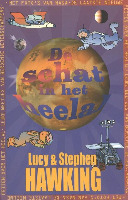 Boek cover De schat in het heelal van Lucy Hawking (Paperback)