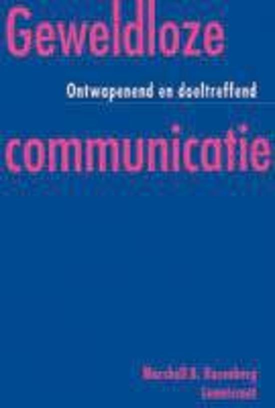 Boek cover Geweldloze Communicatie van Marshall B. Rosenberg (Onbekend)