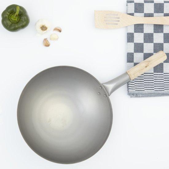 Wok met steel 31 cm - Paderno