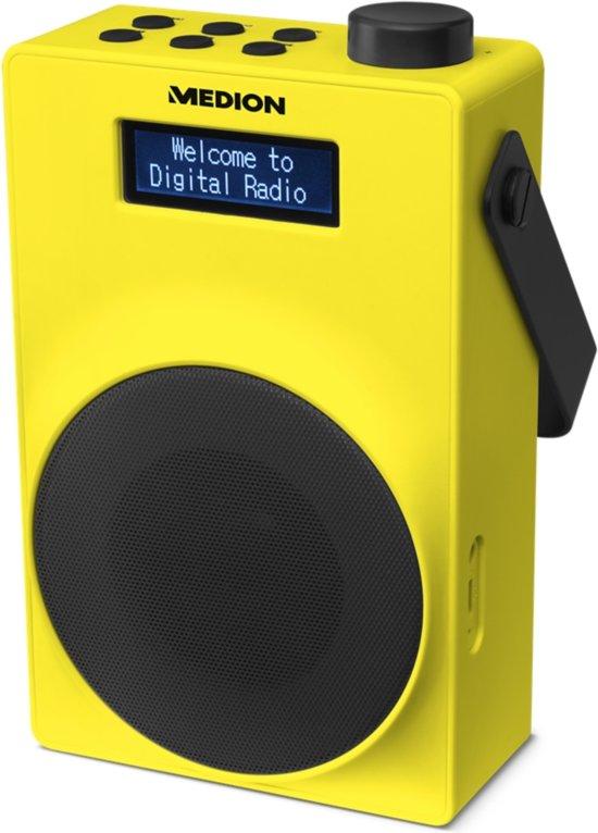 MEDION® LIFE E66880 Draagbare DAB+ Radio (geel)