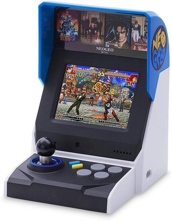 Afbeelding van SNK Corporation NEOGEO Mini draagbare game console Zwart, Blauw, Zilver 8,89 cm (3.5)