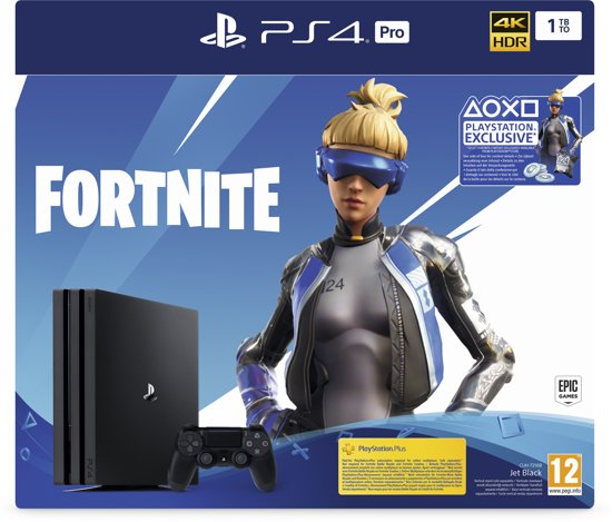 PlayStation 4 Pro 1 TB Fortnite Neo Versa Bundel (PS4 Pro)