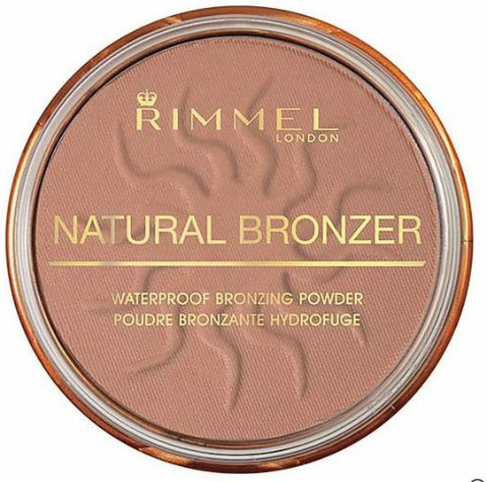 Rimmel London Natural Bronzing Bronzingpoeder - 021 Sunlight - Watervast