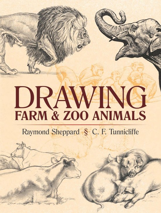 Image of: Cute Drawing Farm And Zoo Animals Bolcom Bolcom Drawing Farm And Zoo Animals ebook Raymond Sheppard