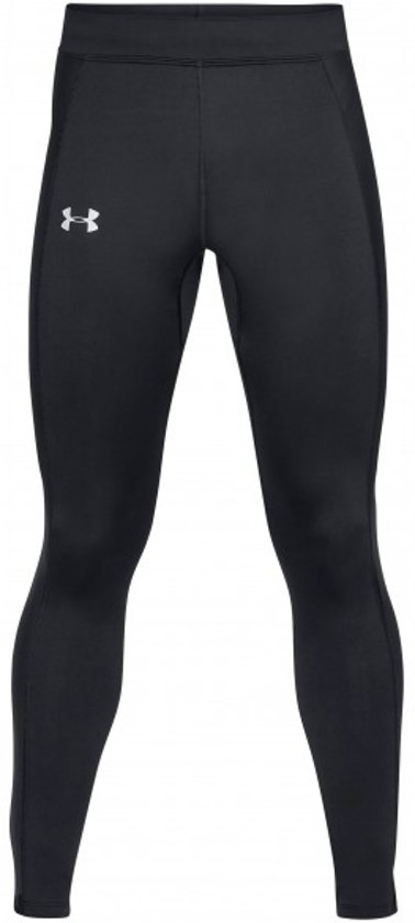 Under Armour Coldgear Run Tight Heren Sport Legging - Zwart - Maat S