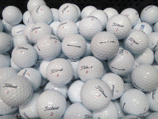 Golfballen gebruikt/lakeballs Titleist nxt tour model 2013 AAAA Klasse 50 stuks.